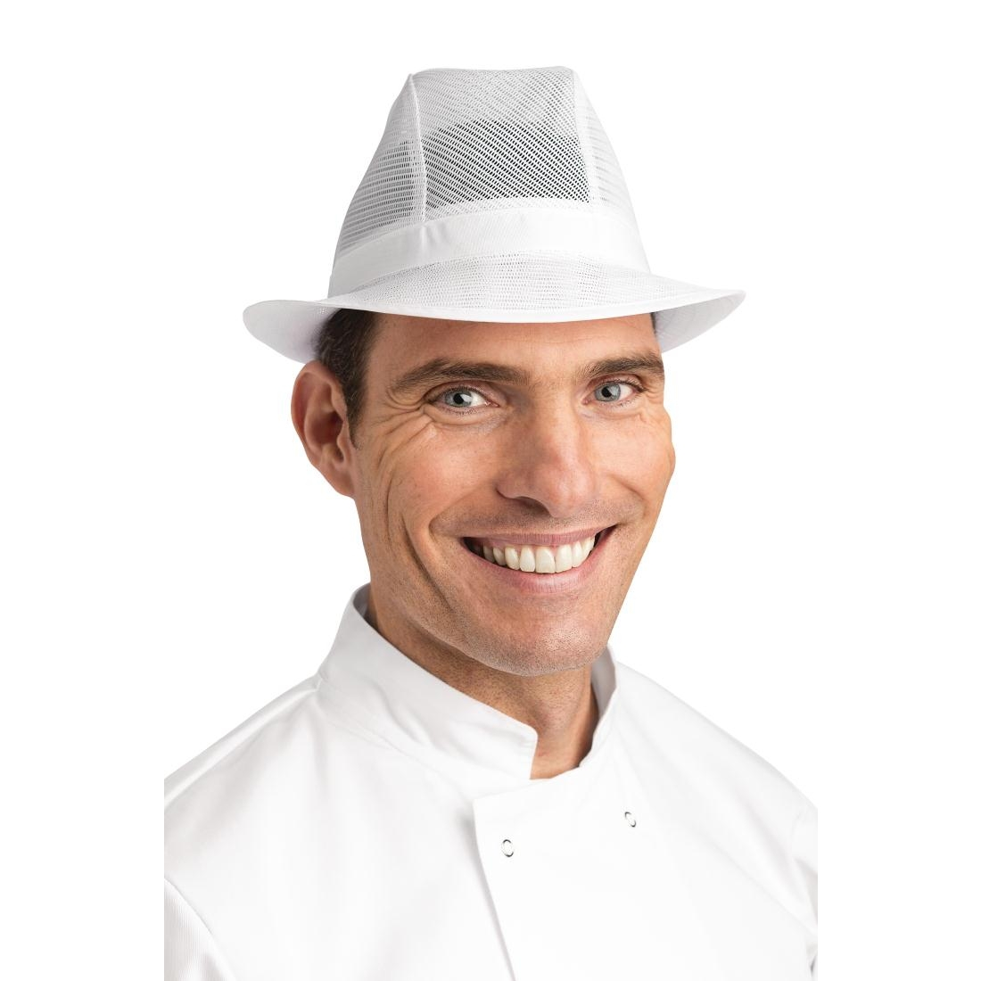 Trilby Hat White S - Andy Catering Equipment 2c7af6437b8