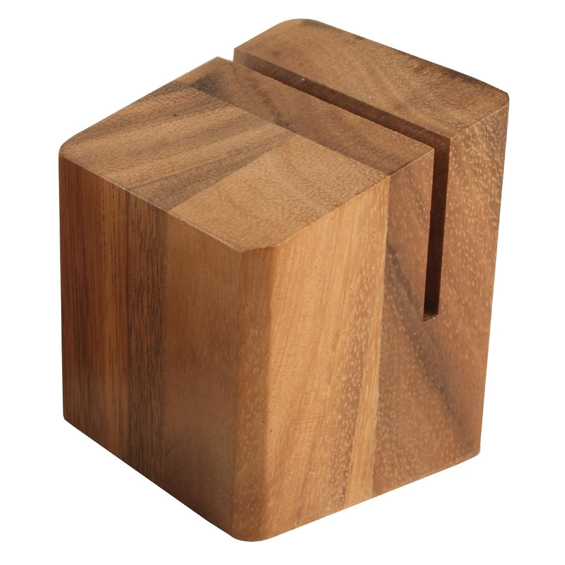 Wooden Menu Holder And Riser Andy Catering Equipment