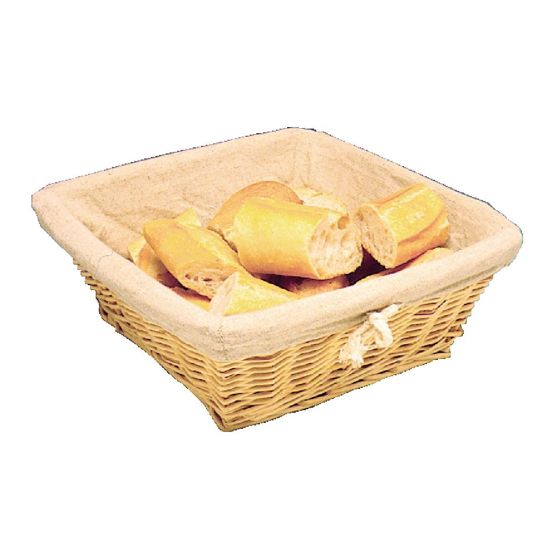 Wicker Square Basket Andy Catering Equipment